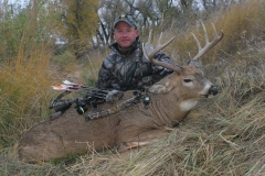 BW Mark Kayser with South Dakota bowkill, copyright Mark Kayser