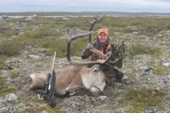 CABH5, Kayser on Quebec semiguided caribou hunt, copyright Mark Kayser
