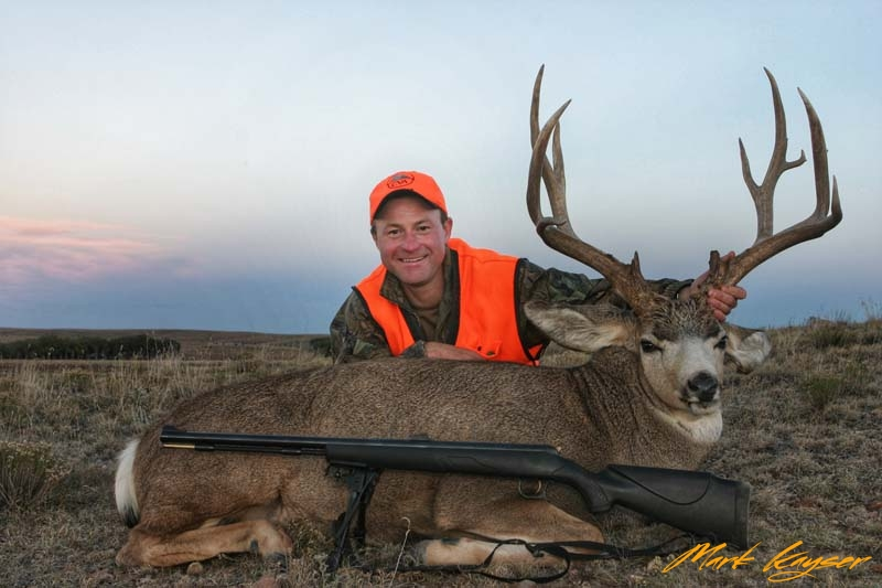 MHZ, Mark Kayser mule deer success, copyright Mark Kayser