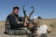 AA139, Mark Kayser with trophy Wyoming pronghorn, copyright Mark Kayser