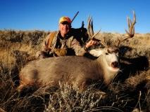 MH, 2017 Mark Kayser mule deer success, copyright Mark Kayser