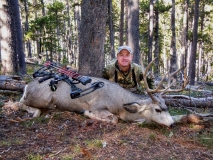 MHB, Bowhunting muley success, copyright Mark Kayser edt
