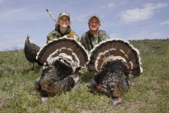 TH1134, Mark and Katelyn Kayser with a 20 gauge double, copyright Mark Kayser edt